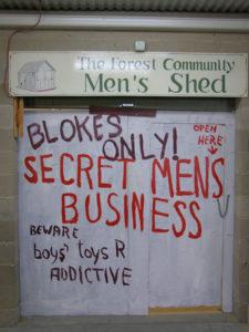 photo secret mens business entrance